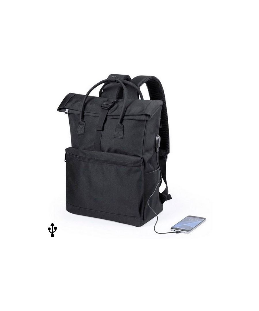 Image for Rucksack for Laptop and Tablet with USB Output 145532