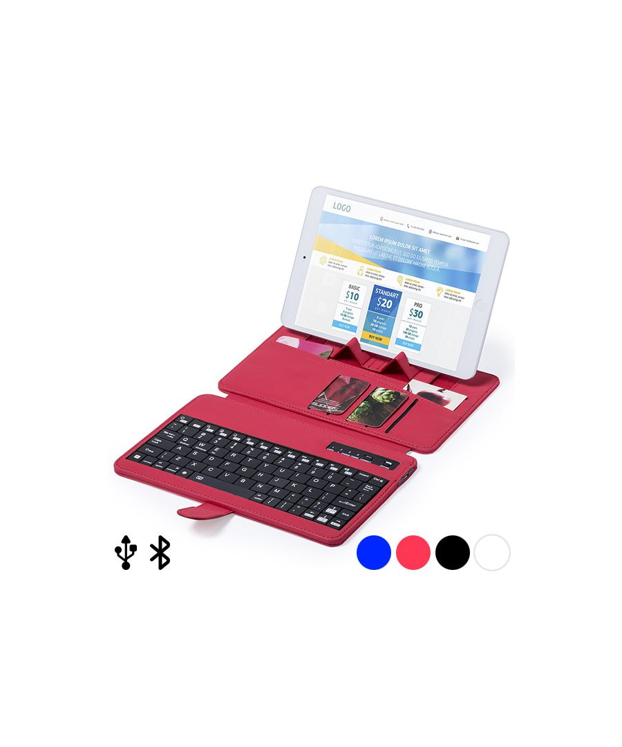 Image for Bluetooth Keyboard with Support for Mobile Device 145739