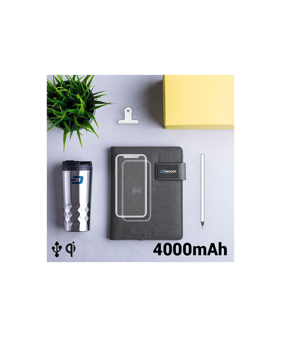 Image for Notepad with Power Bank 4000 mAh 16 GB (20 sheets) 146025
