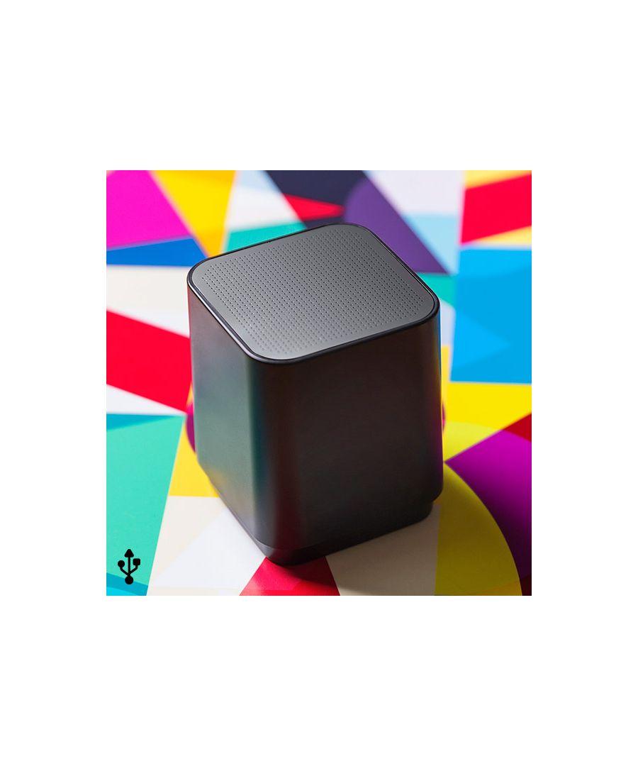 Image for Wireless Bluetooth Speaker USB 3W Black 146132