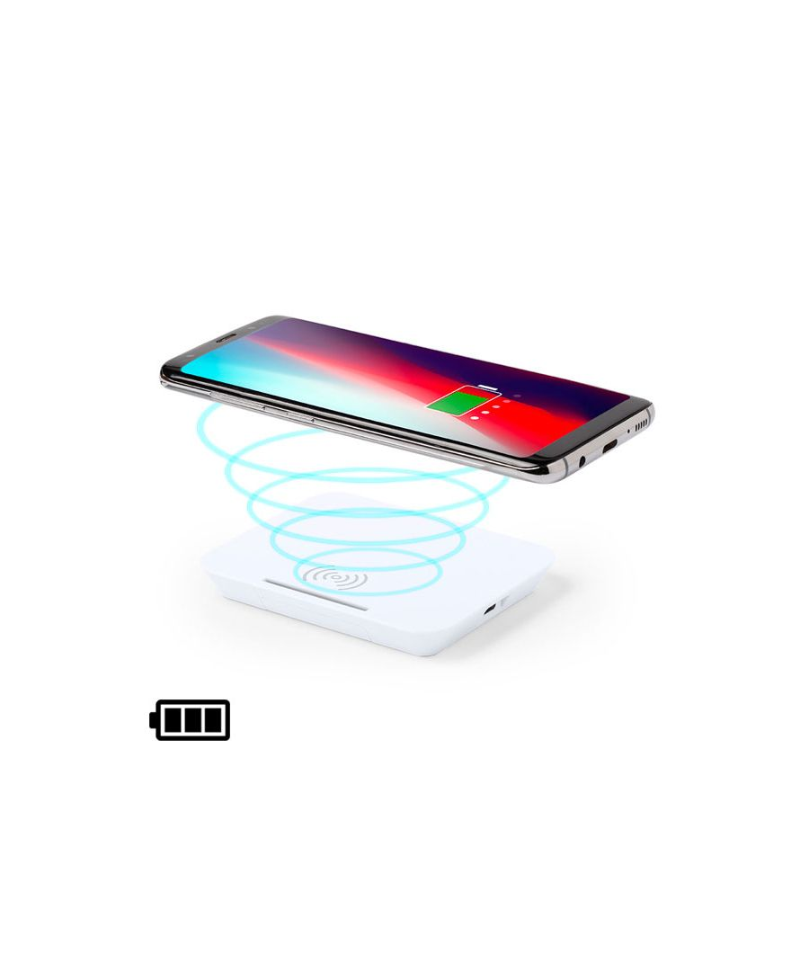 Image for Wireless Charger with Mobile Holder White 146260