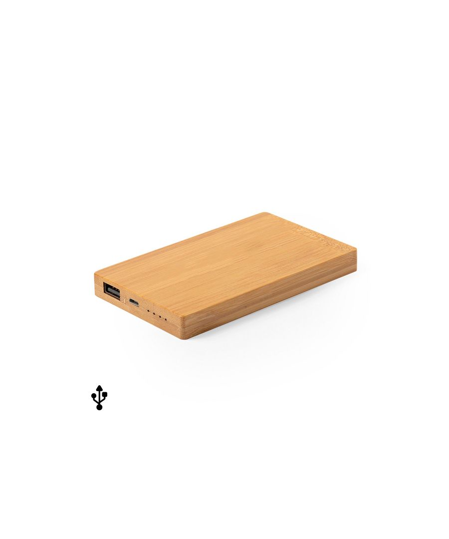 Image for Power Bank Bamboo 146523