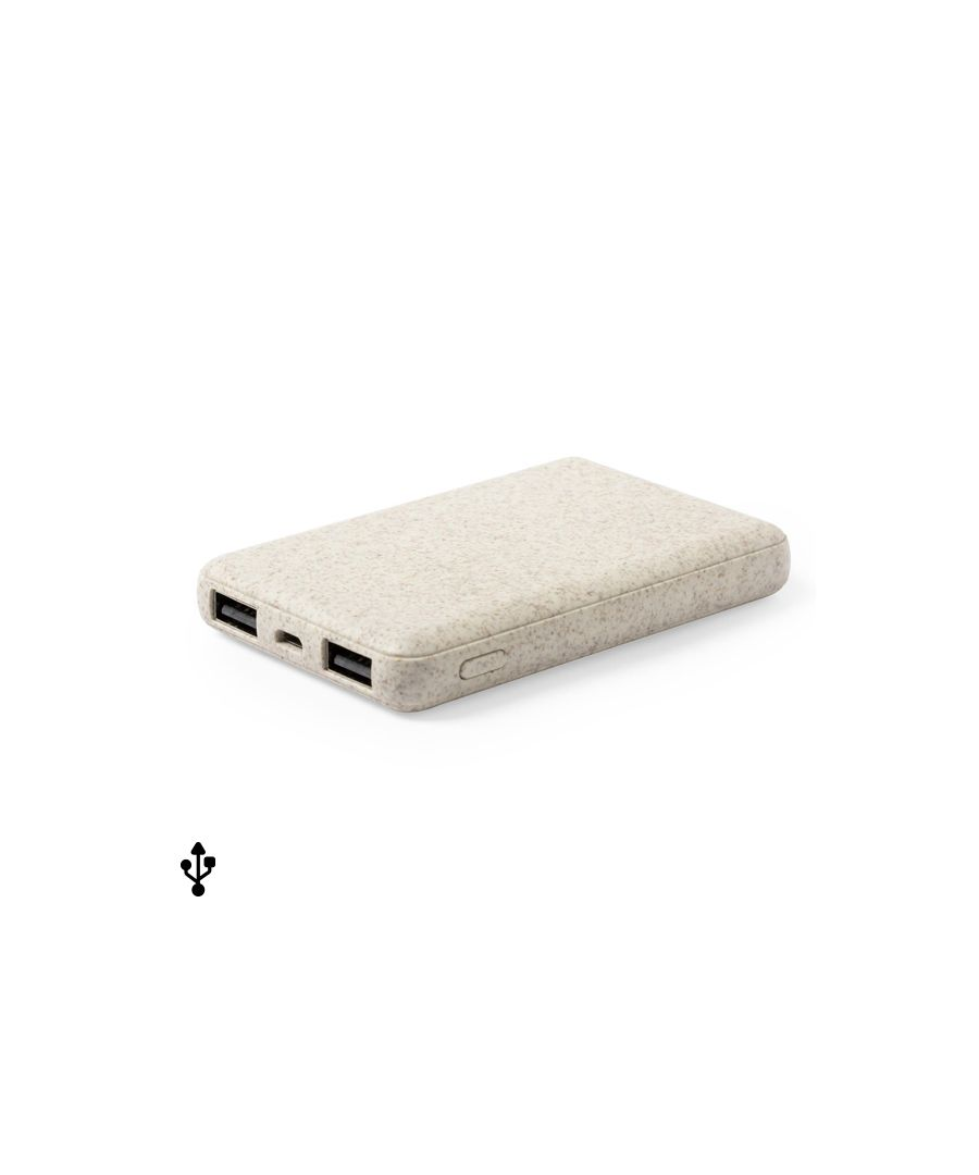 Image for Power Bank 146539 Wheat straw Abs