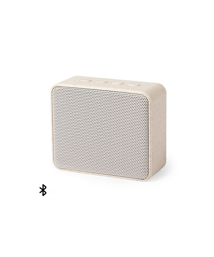 Image for Bluetooth Speakers 3W 146541 Wheat straw Abs