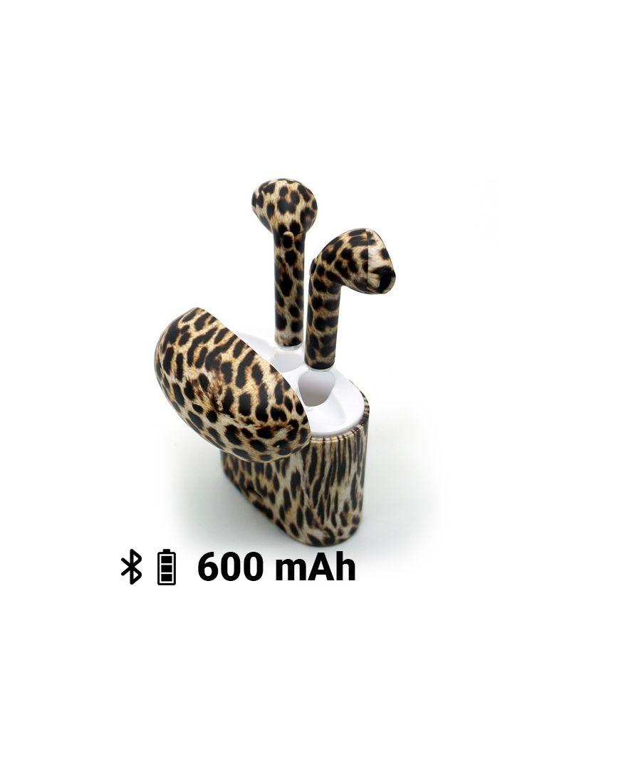 Image for Bluetooth Headphones Contact Animal Print 600 mAh