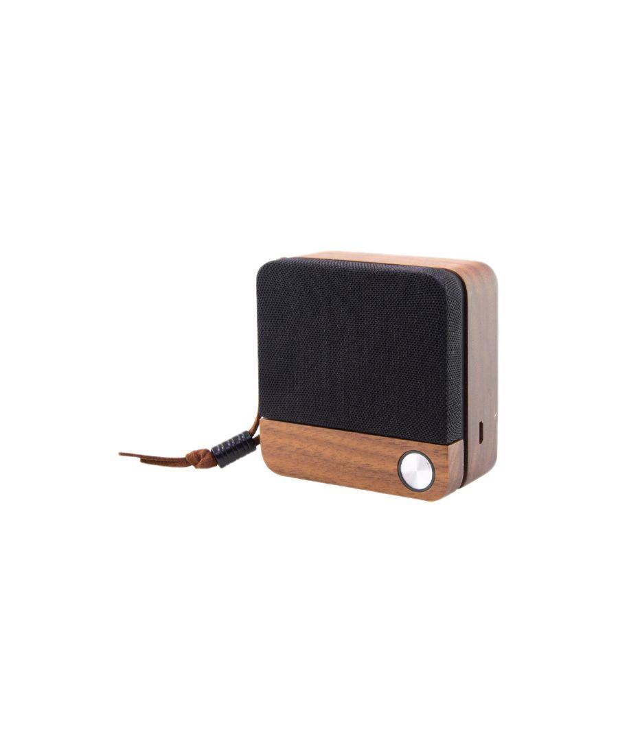 Image for Wireless Bluetooth Speaker Eco Speak KSIX 400 mAh 3.5W Wood