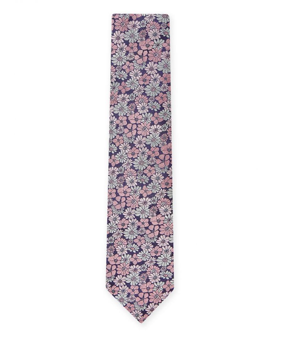 Image for Pastel Floral Tie Pink
