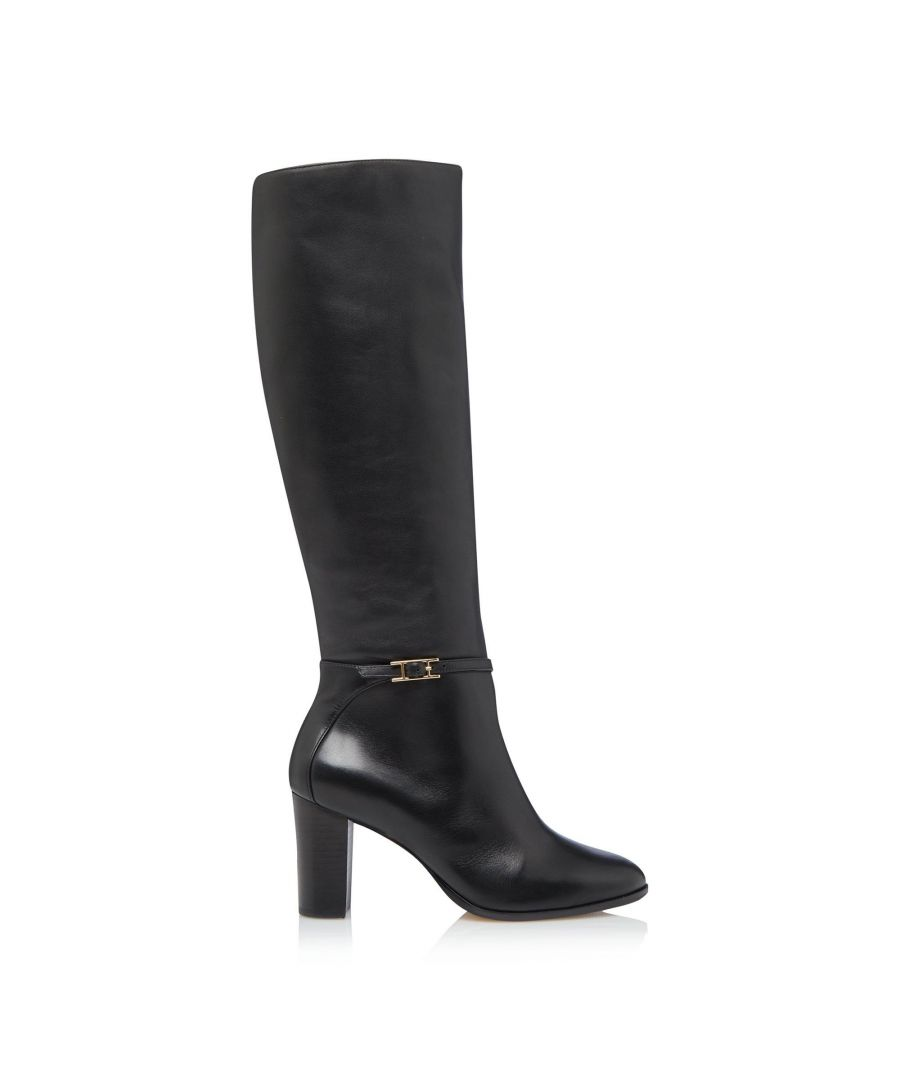 Image for Dune Ladies SABAH Slim Buckle Knee High Boots
