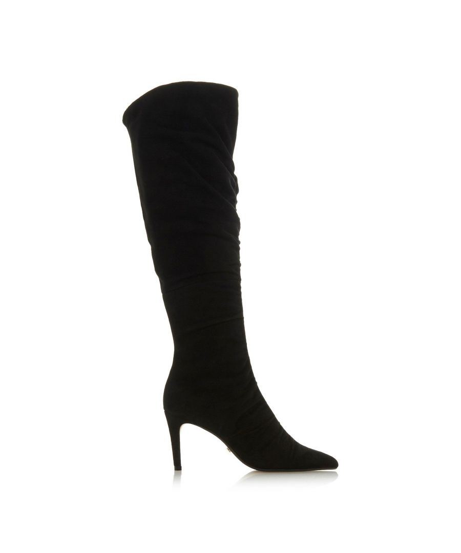 Image for Dune Ladies SABINI Ruched Knee High Boots