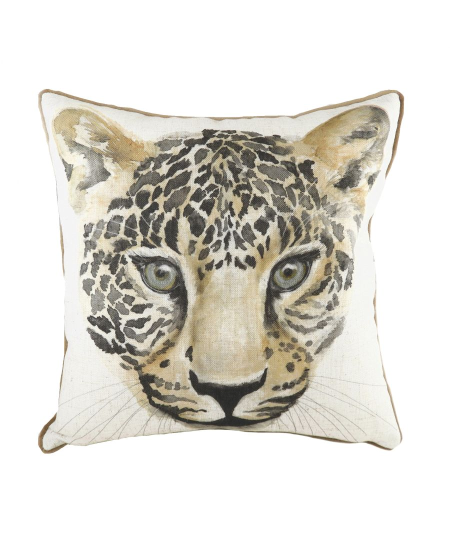 Image for Safari Leopard Mocha Cushion
