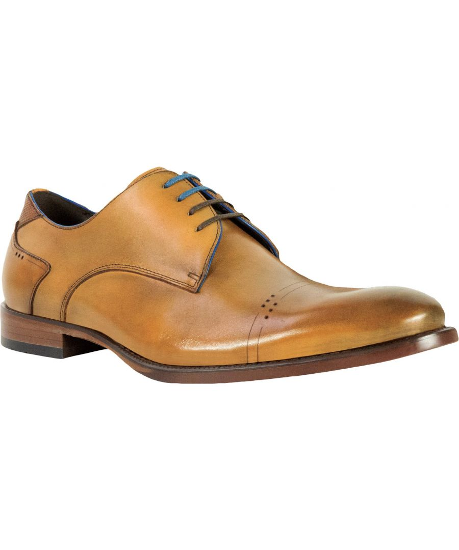 Image for Salermo Tan Oxford Shoe