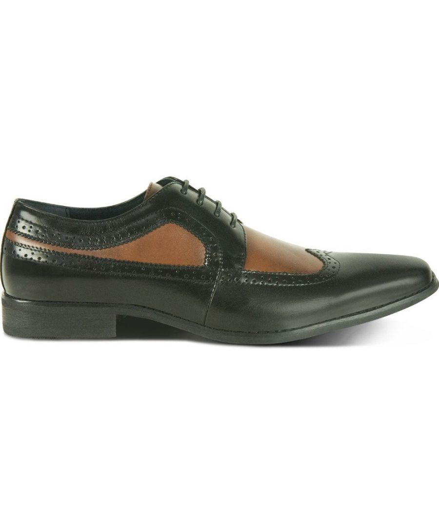 Image for Salinas Derby Shoe Black/Tan