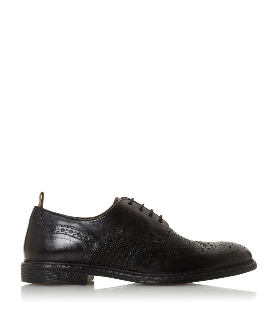Image for Bertie Mens SALVAGE Contrast Lace Up Brogue