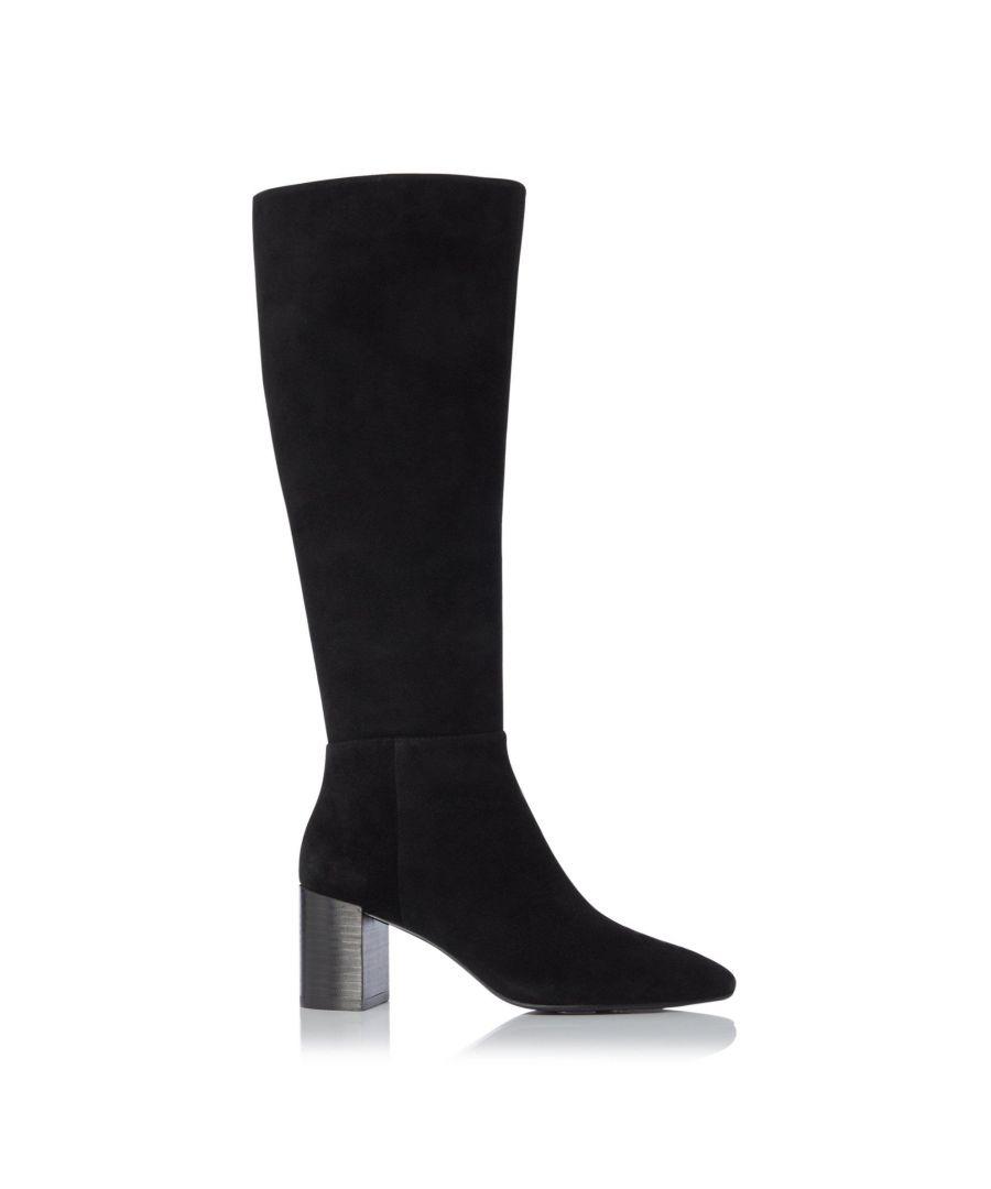 Image for Dune Ladies SANTIE Block Heel Knee High Boots