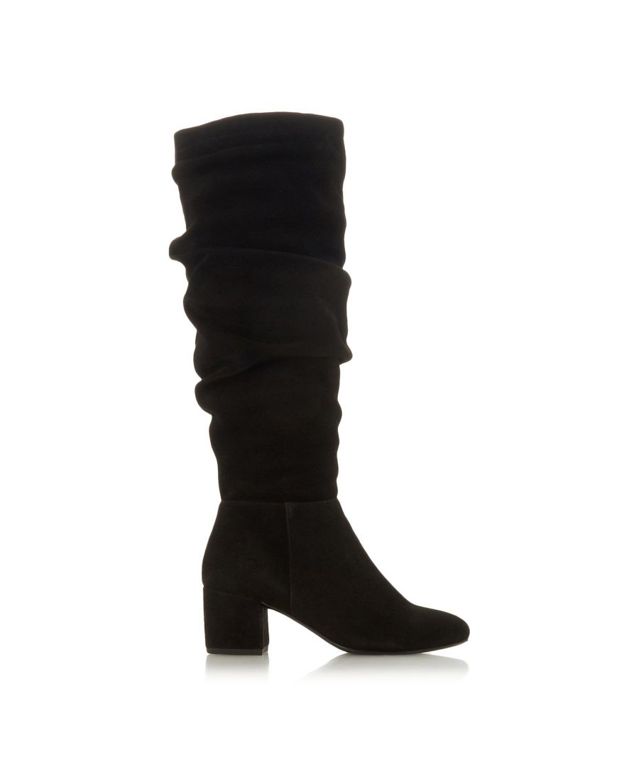 Image for Dune Ladies SARENTO Ruched Knee High Boots