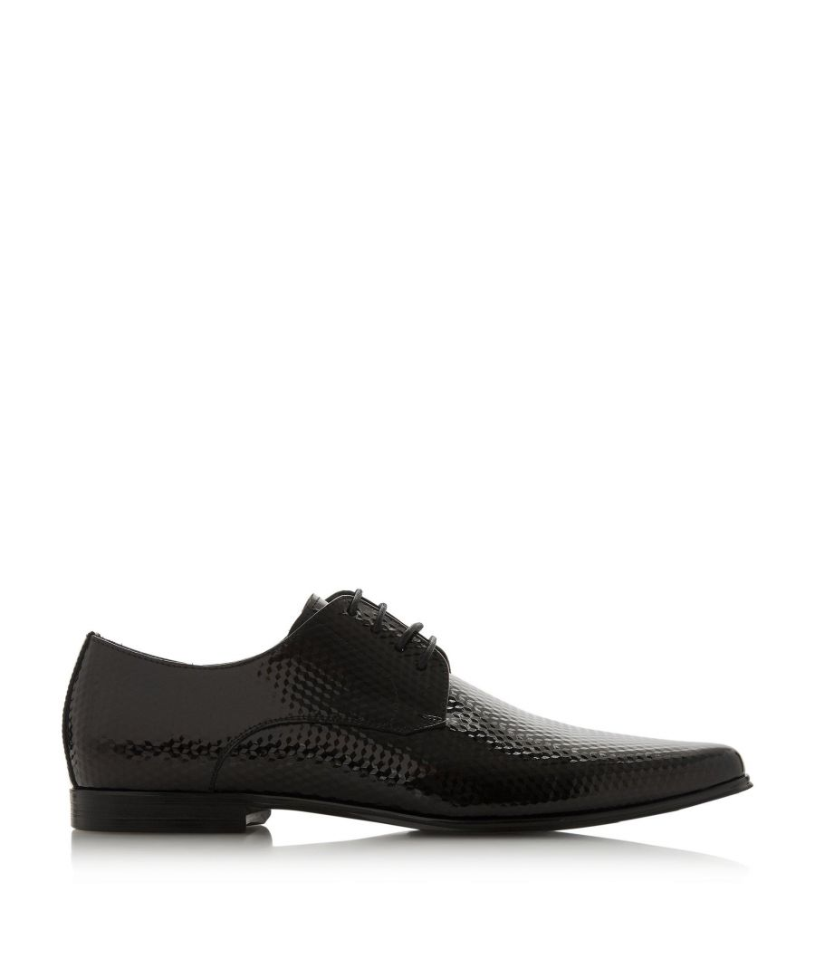 Image for Dune Mens SAULON Pointed Toe Lace-Up Smart Oxford Shoes