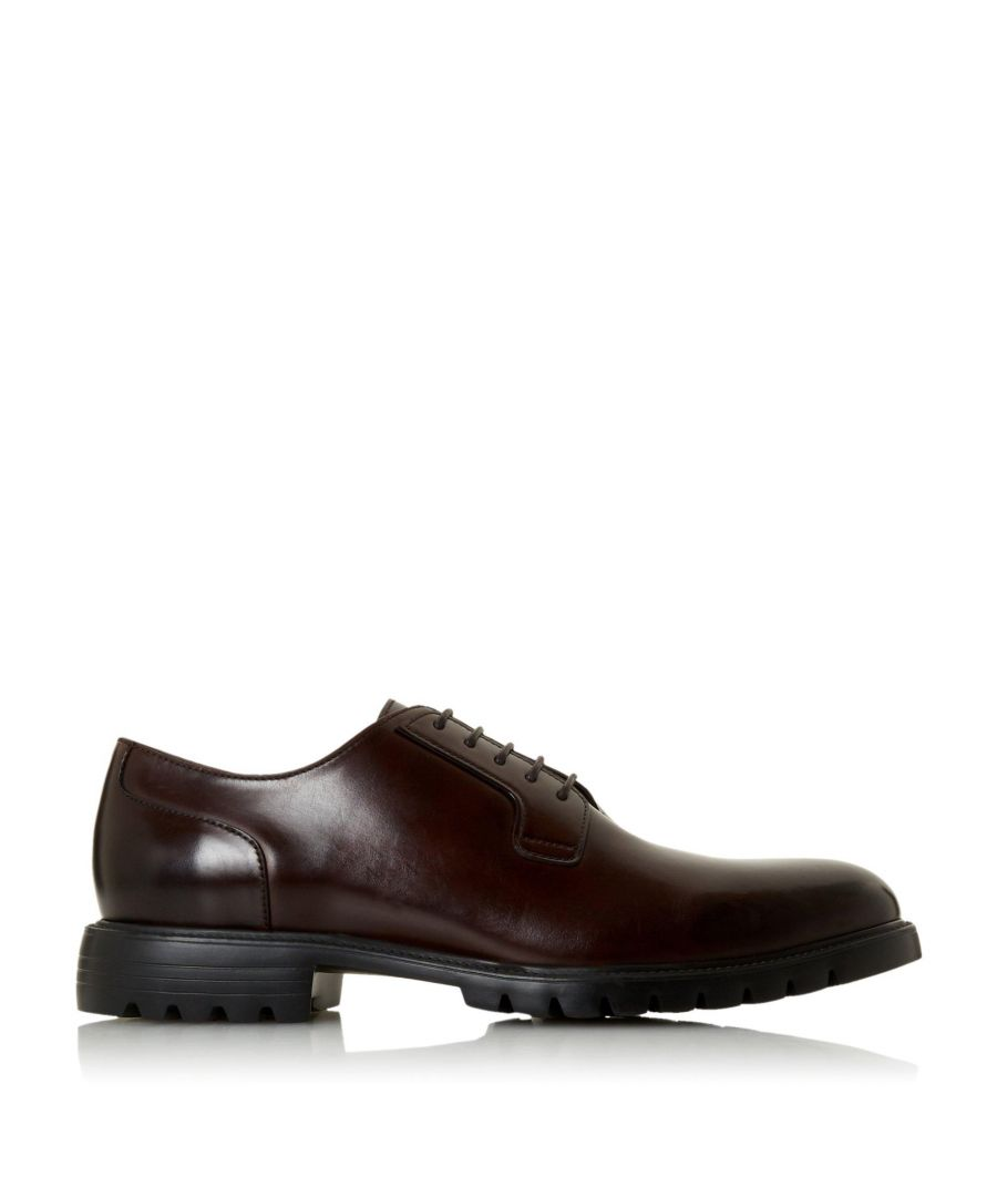 Image for Bertie Mens SCOTTON Cleated Sole Derby Shoes