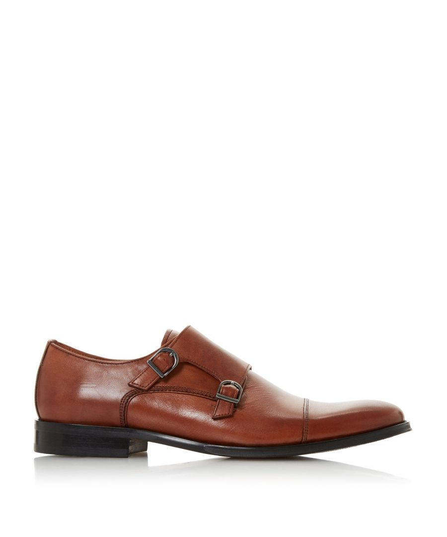 Image for Bertie Mens SEATTLE Double Monk Toecap Shoes