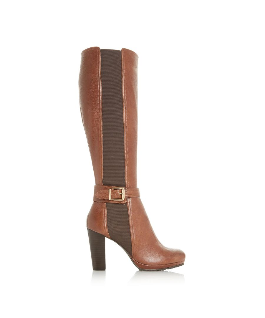 Image for Dune Ladies SEBB Stretch Panel Knee High Boots