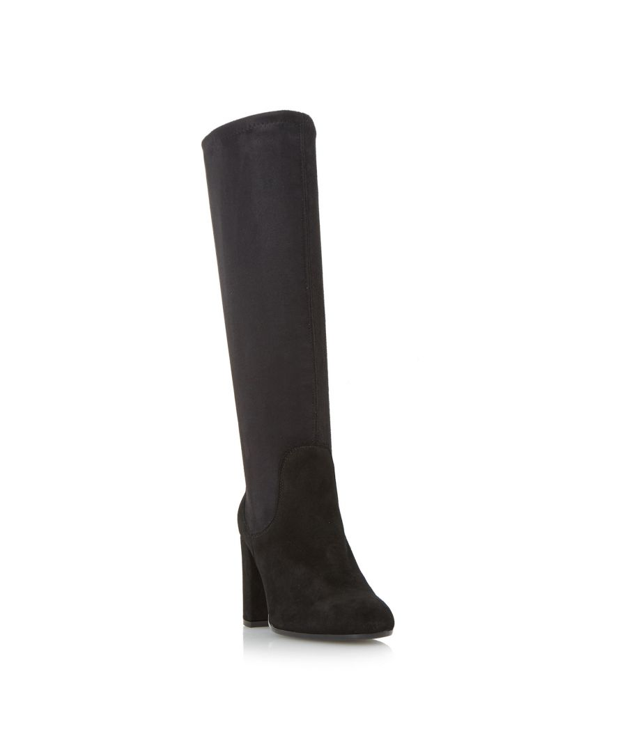 Image for Dune Ladies SEREIN Knee High Heeled Stretchy Boot