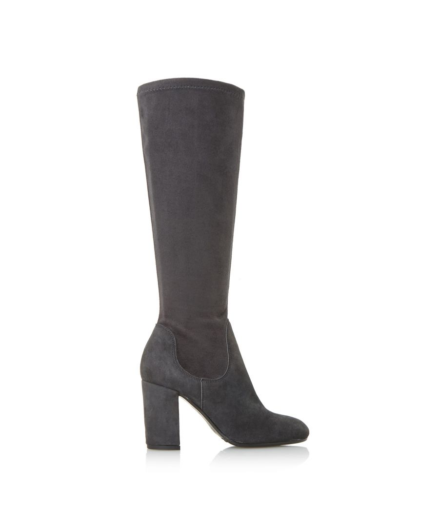 Image for Dune Ladies SEREIN Knee High Heeled Stretchy Boots