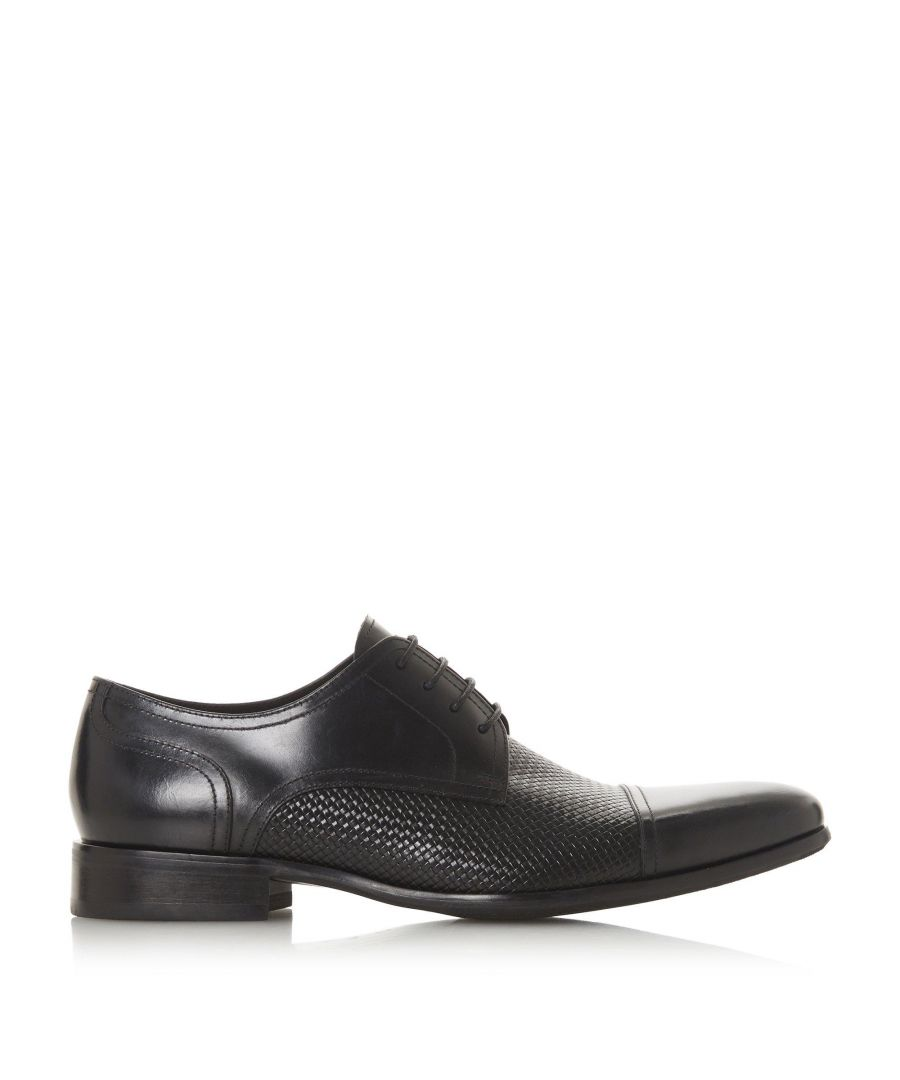 Image for Dune Mens SERRA Woven Embossed Lace Up Shoes
