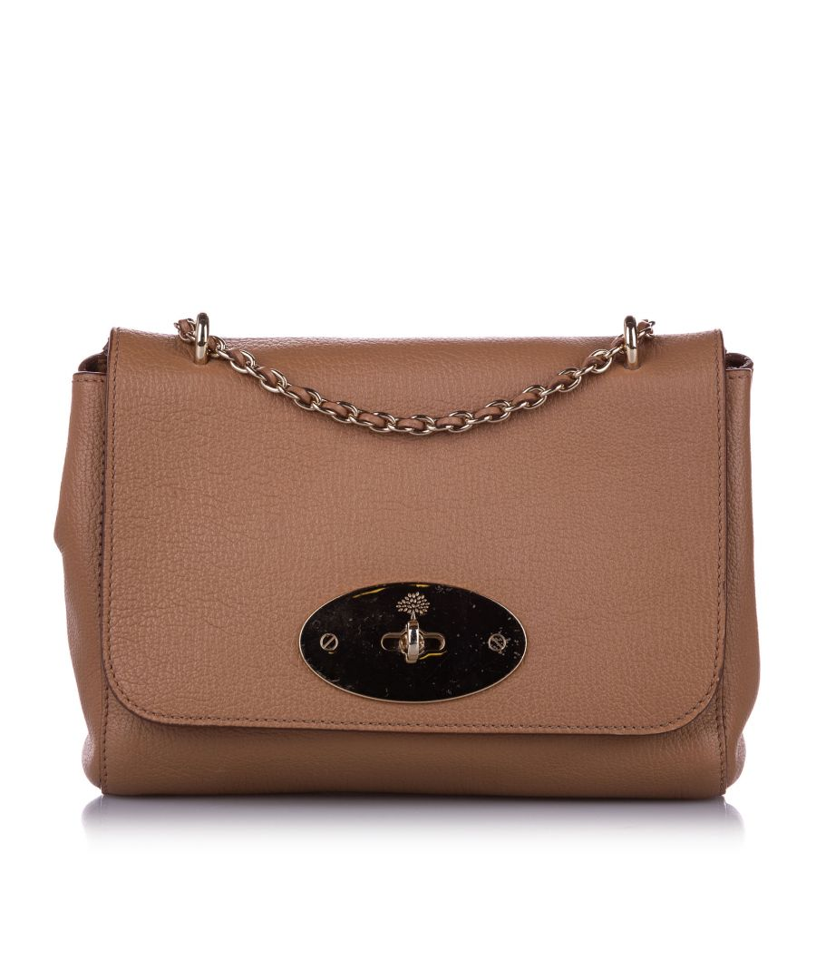 Image for Vintage Mulberry Small Lily Leather Crossbody Bag Pink