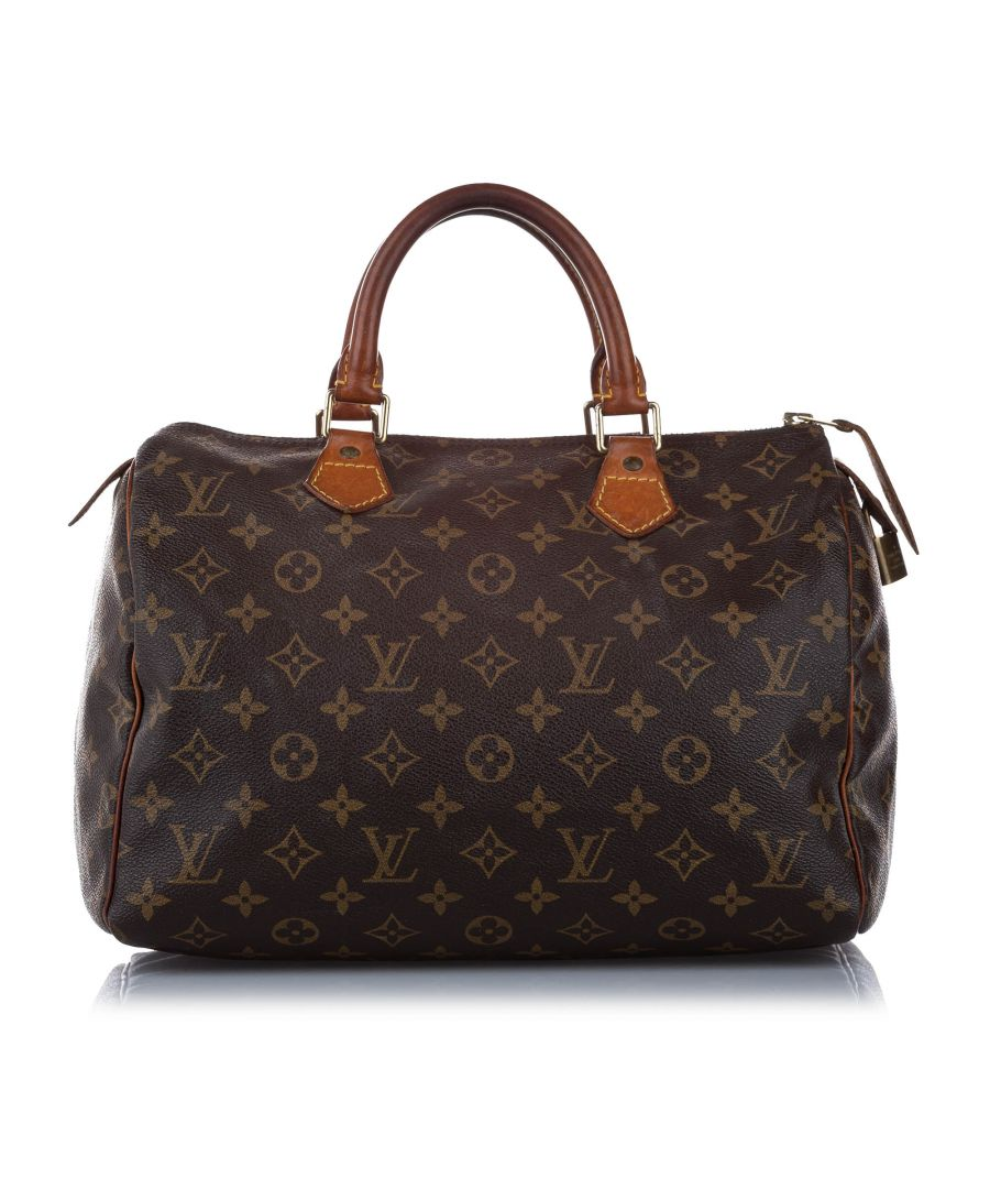 Image for Vintage Louis Vuitton Monogram Speedy 30 Brown