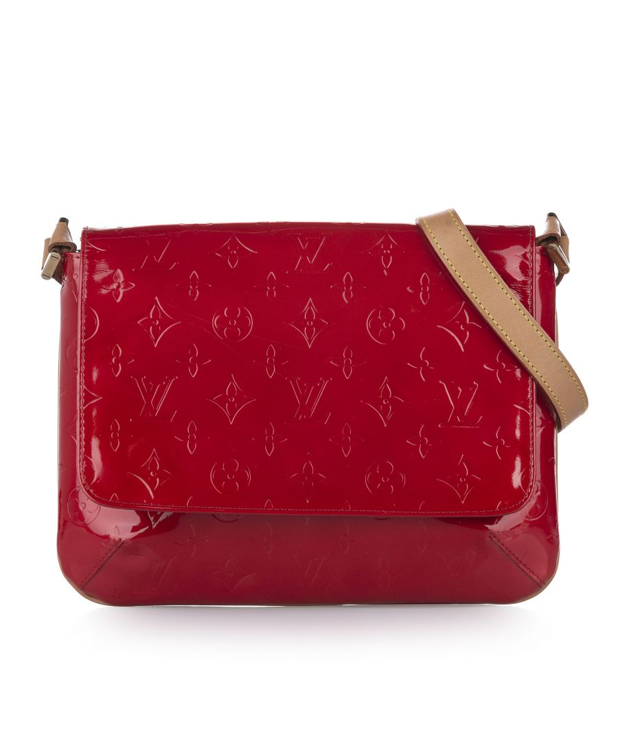 Image for Vintage Louis Vuitton Vernis Thompson Street Red