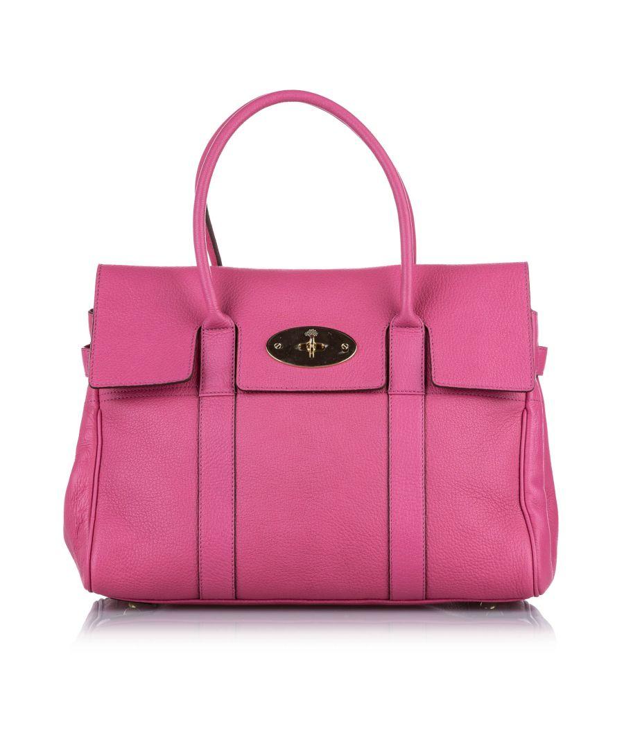 Image for Vintage Mulberry Bayswater Leather Handbag Pink
