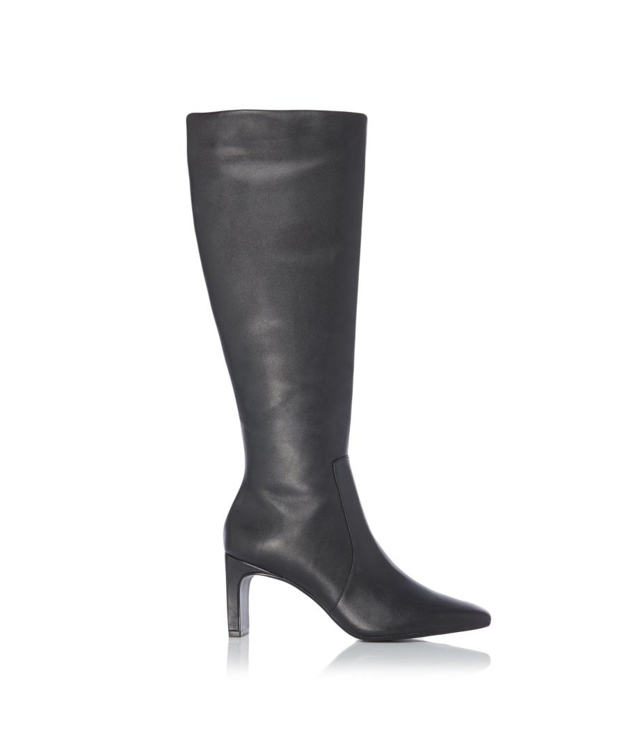Image for Dune Ladies SHAYA Flat Heel Knee High Boots