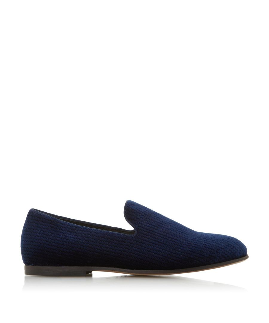 Image for Bertie Mens SHINDLER Embossed Textured Slipper Loafer