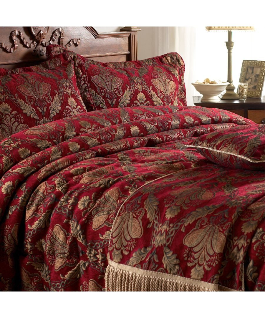 Image for Shiraz Bedspread Burgundy