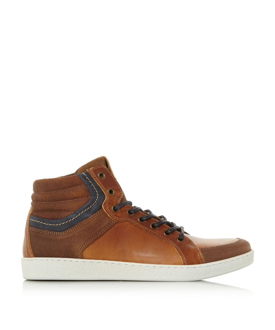 Image for Dune Mens SILVA High Top Trainers