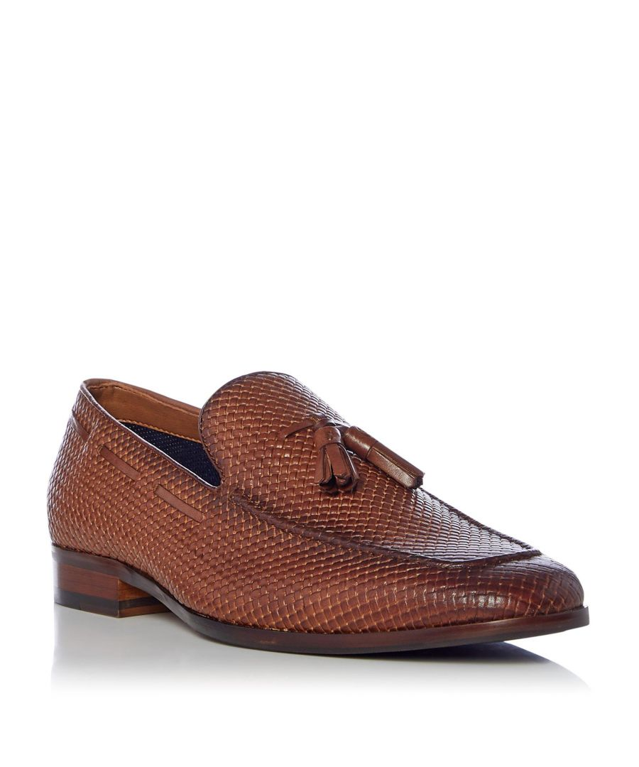 Image for Dune Mens SIMONS Woven Tassel Loafer
