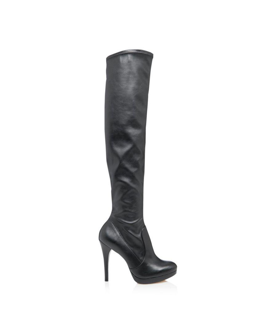 Image for Dune Ladies SINDEE Over Knee Stretch Stiletto Heel Boots