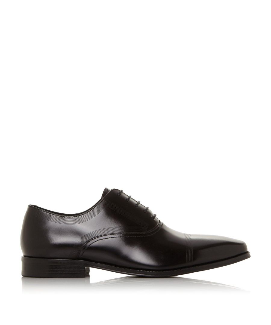 Image for Bertie Mens SINGER Leather Smart Oxford Shoes