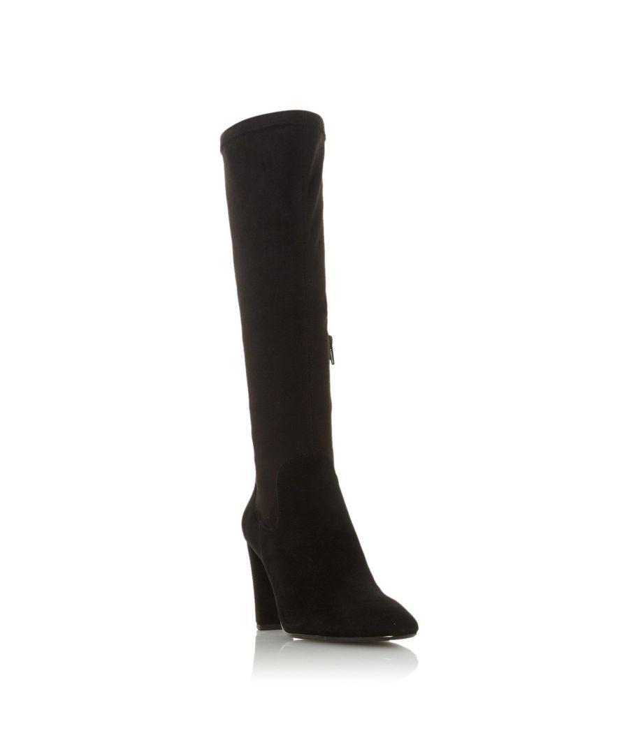 Image for Dune Ladies SIREN Stretch Block Heel Almond Toe Boot