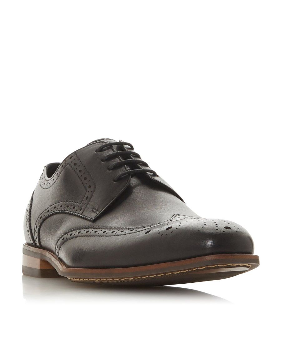 Image for Dune Mens SISCO Leather Brogue Shoe