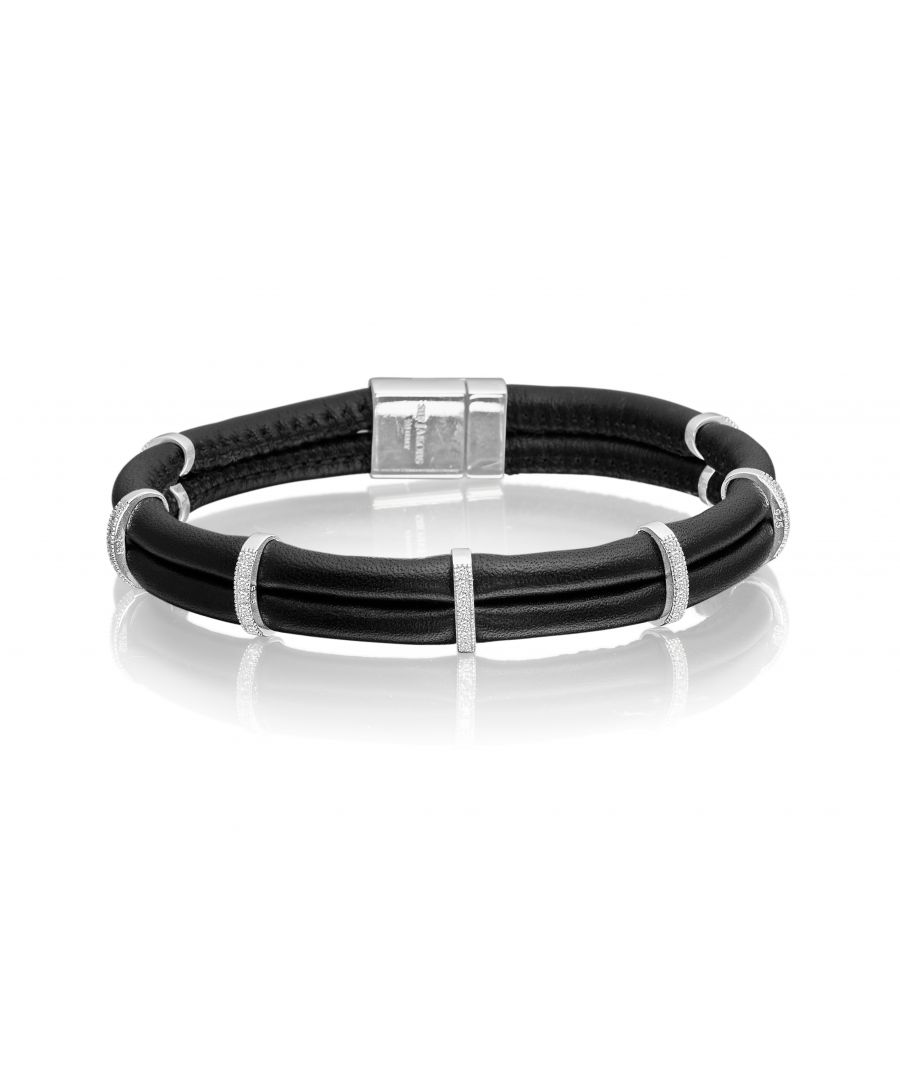 Image for MODENA UNO LEATHER BRACELET