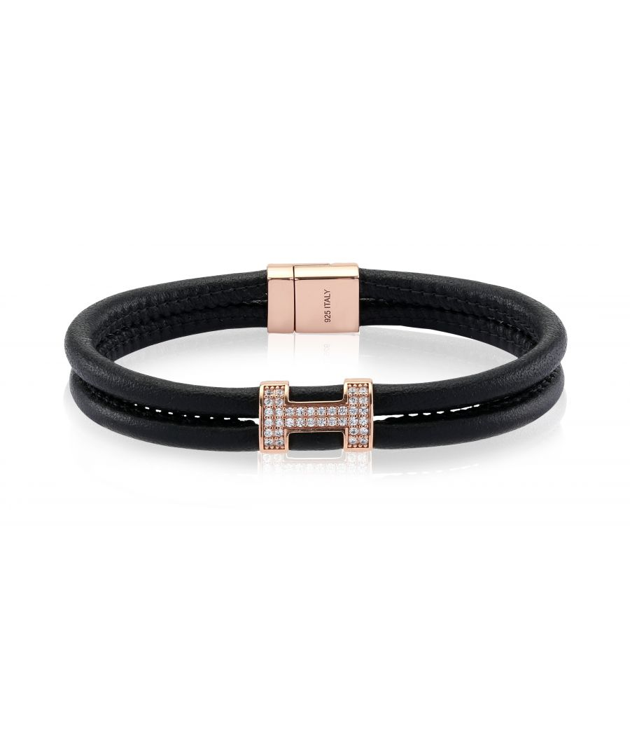 Image for MODENA TRE LEATHER BRACELET