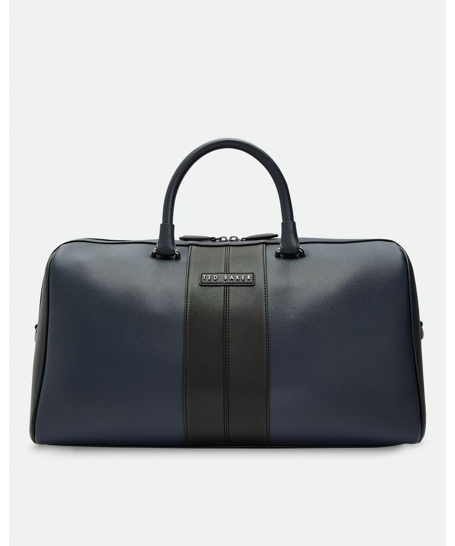 Image for Ted Baker Sling Twill Pu Holdall, Navy