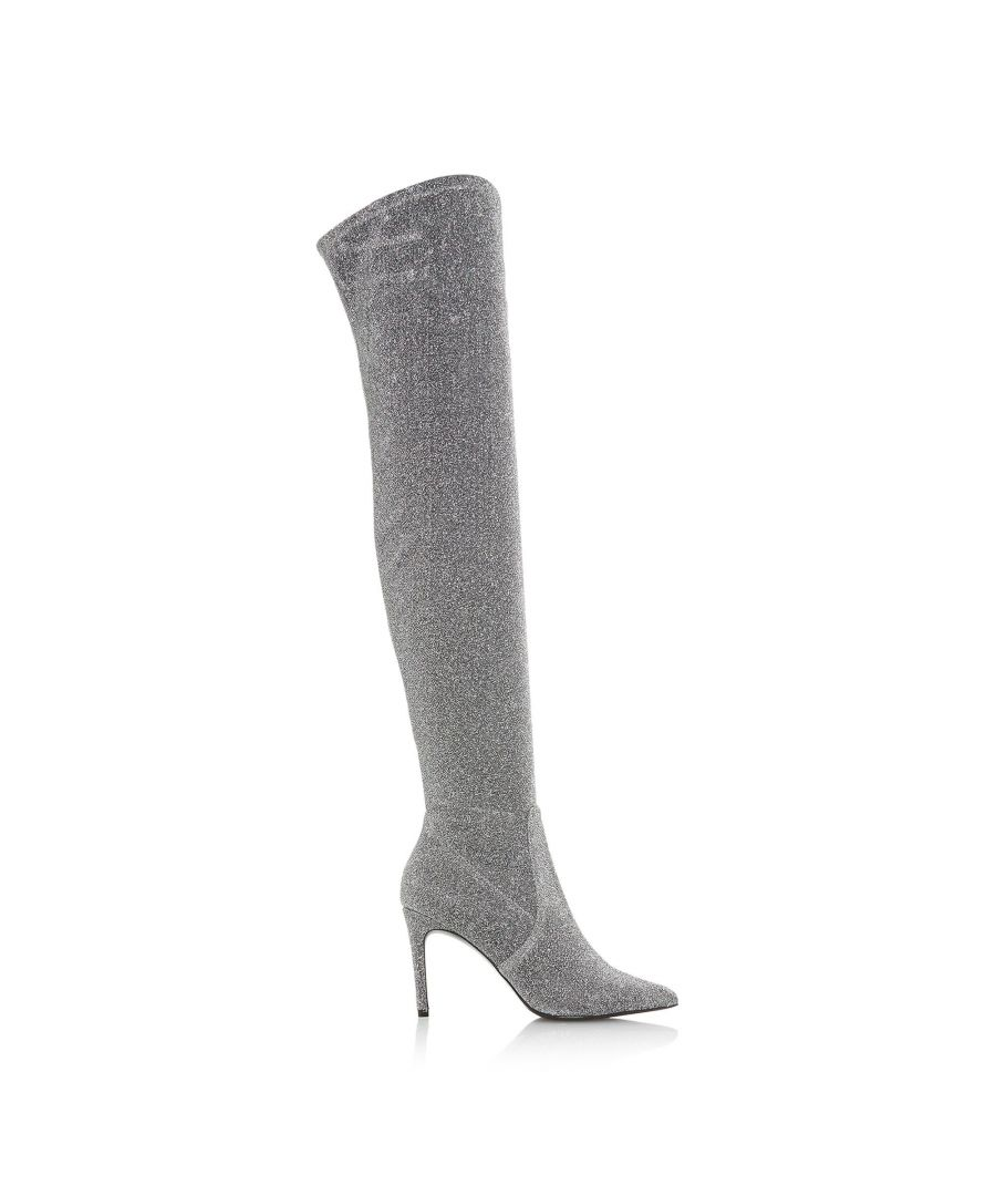 Image for Dune Ladies SLOANNE Point Toe Stiletto Over The Knee Boots