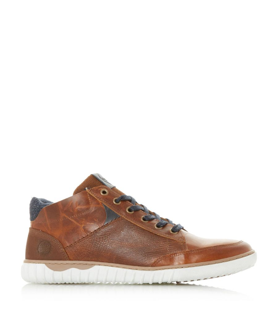 Image for Dune Mens SMASHING Contrast Collar Cupsole Trainers