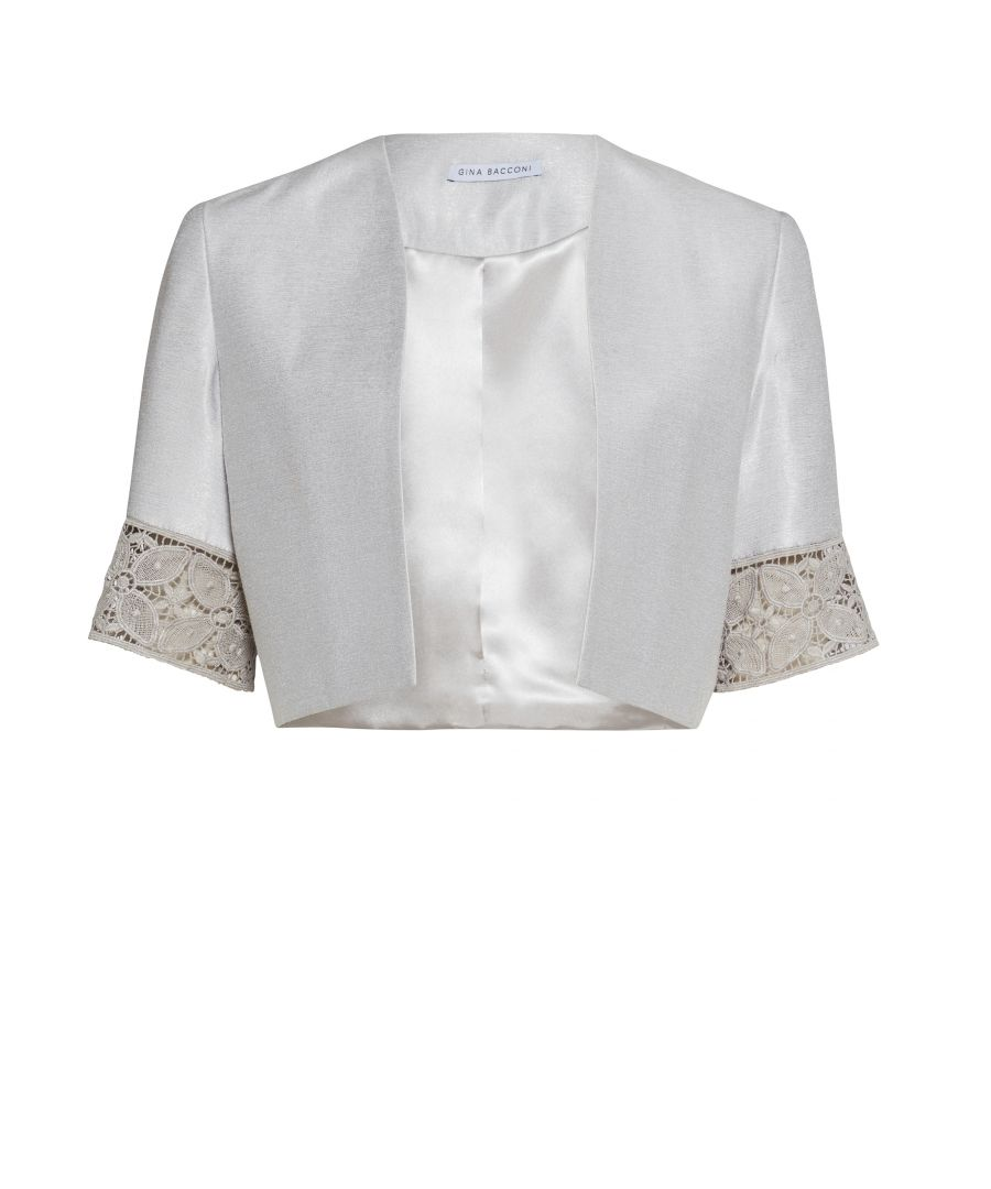 Image for Crepe Chine And Antique Foil Jacket