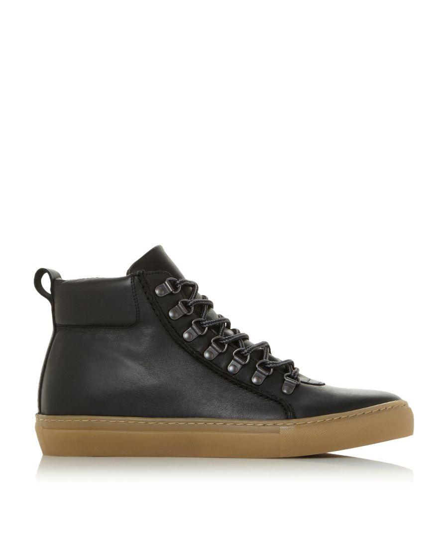Image for Dune Mens SNOWDON D Ring High Top Trainers