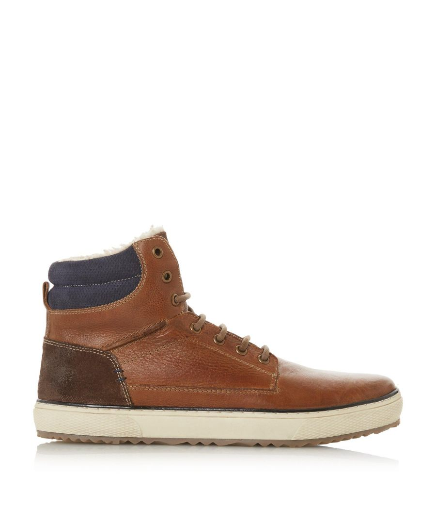 Image for Dune Mens SOLAR Borg Lined Lace Up Boots