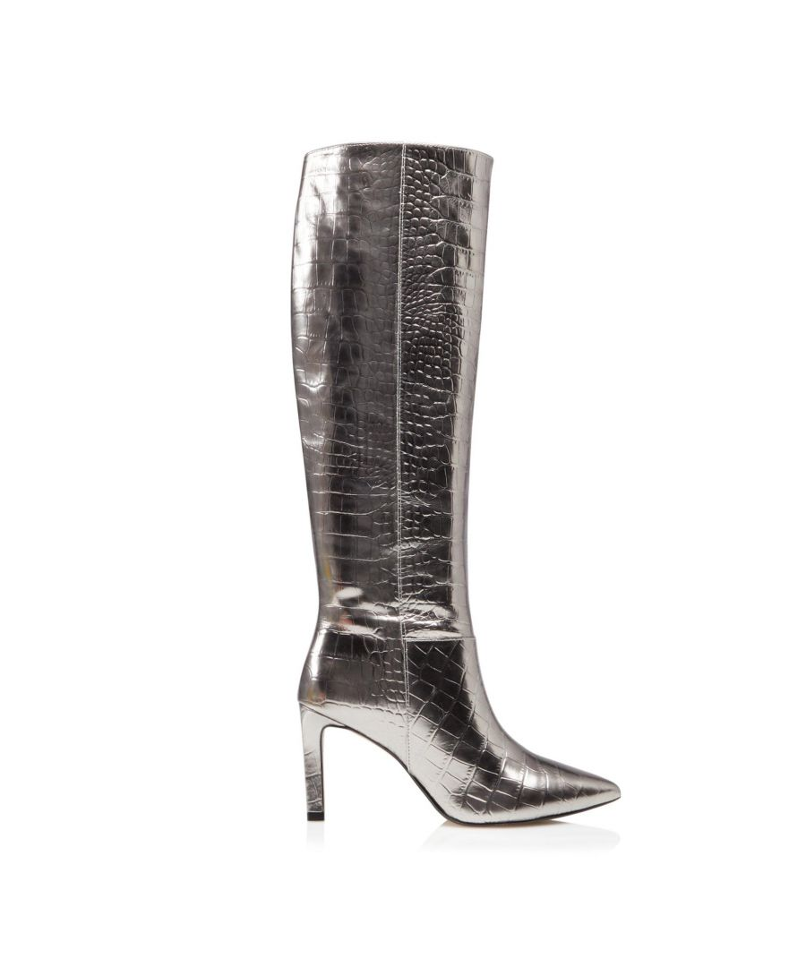 Image for Dune Ladies SPICE Pointed Stiletto Knee High Heeled Boots