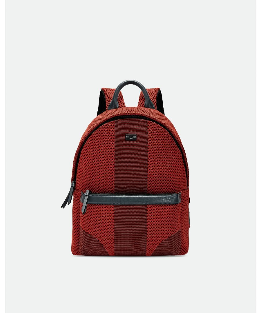 Image for Ted Baker Sport Knitted Backpack, Orange