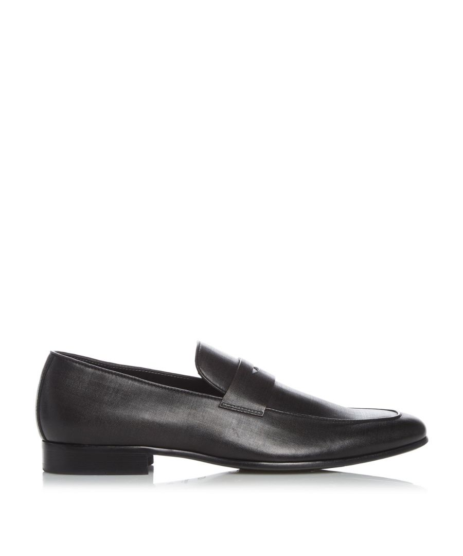 Image for Dune Mens SQUASH Smart Saffiano Penny Loafers